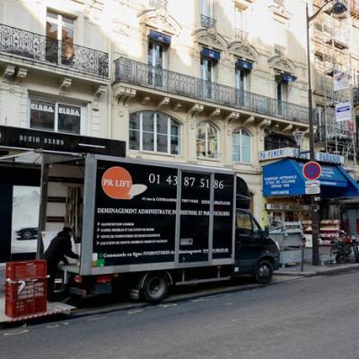 Société de déménagement à Paris